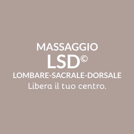 Massaggio a Varese e Milano - MiFaiBene Benessere Salute Relax Massaggio LSD Lombare Sacrale Dorsale